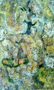 Green Passageway Painting by Nathaniel Quinn